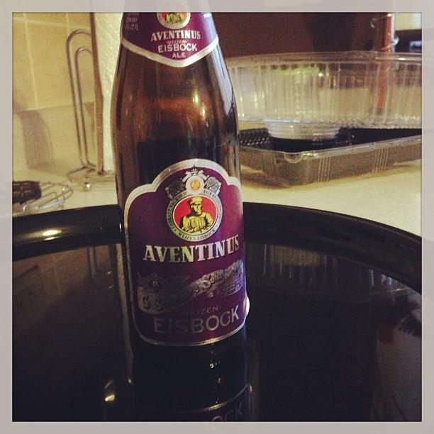 Aventinus Weizen Eisbock vía @pablopr77 en Instagram