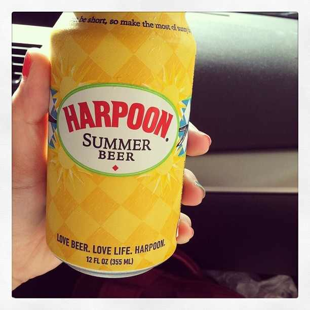 Harpoon Summer Beer vía @ashi274 en Instagram