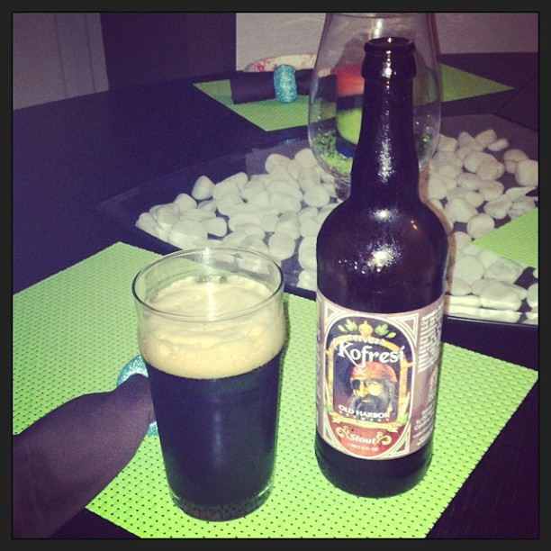 Old Harbor Kofresí Stout vía @pablopr77 en Instagram
