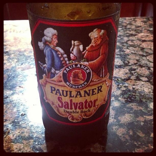 Paulaner Salvator vía @pablopr77 en Instagram
