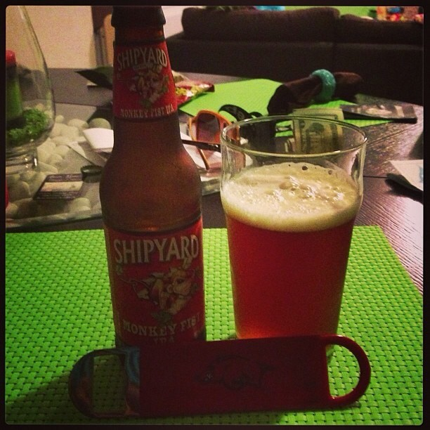 Shipyard Monkey First IPA vía @pablopr77 en Instagram