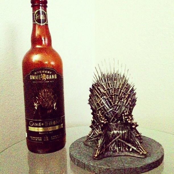 Omme-Gang Game of Thrones Blonde Ale vía @melv0 en Instagram