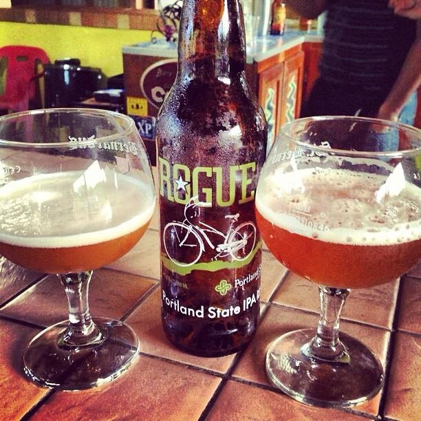 Rogue Portland State IPA vía @lmiguepr en Instagram