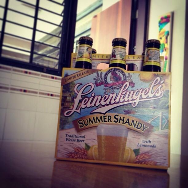 Leinenkugel's Summer Shandy vía @izqrdo en Instagram