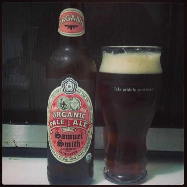 Samuel Smith Organic Pale Ale vía @adejesus80 en Instagram