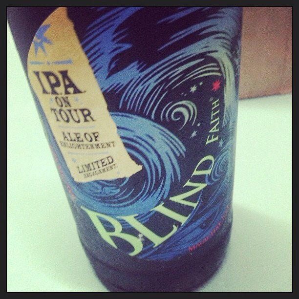 Magic Hat Blind Faith IPA vía @pablopr77 en Instagram