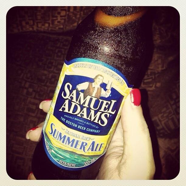 Samuel Adams Summer Ale vía @unpocomaslista en Instagram