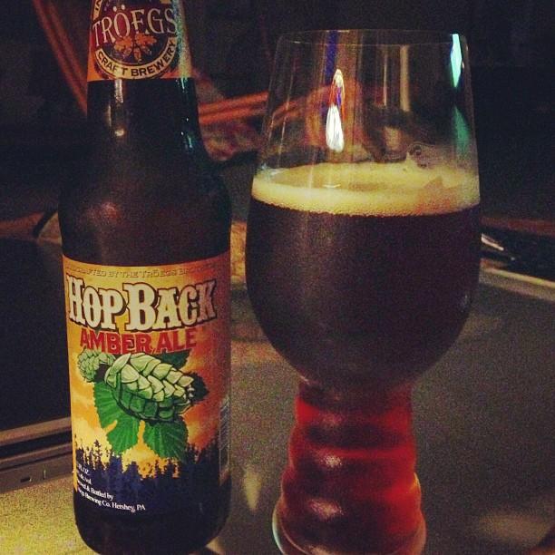 HopBack Amber Ale vía @dehumanizer en Instagram
