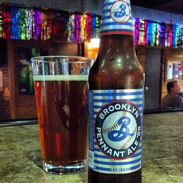 Brooklyn Pennant Ale vía @adejesus80 en Instagram