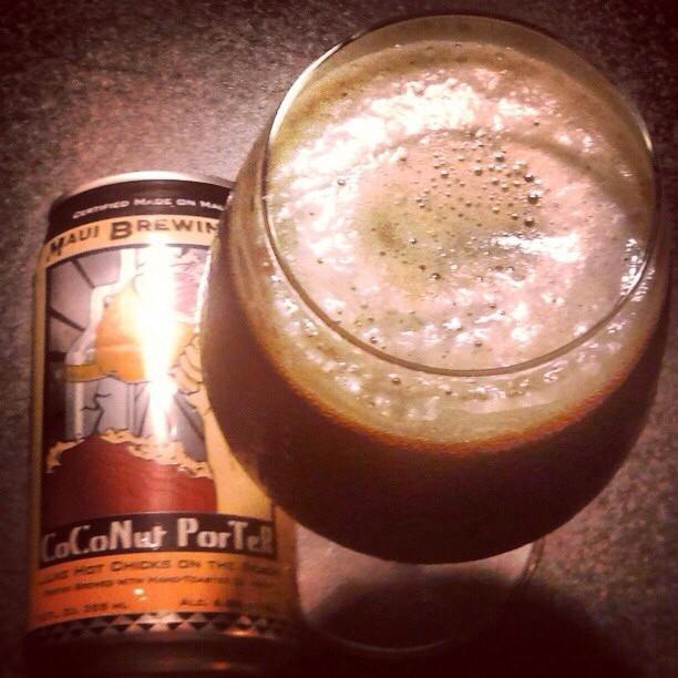 Maui Coconut Porter vía @valdorm en Instagram