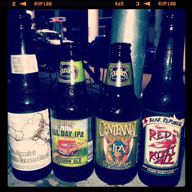 Varias cervezas vía @ashi274 en Instagram