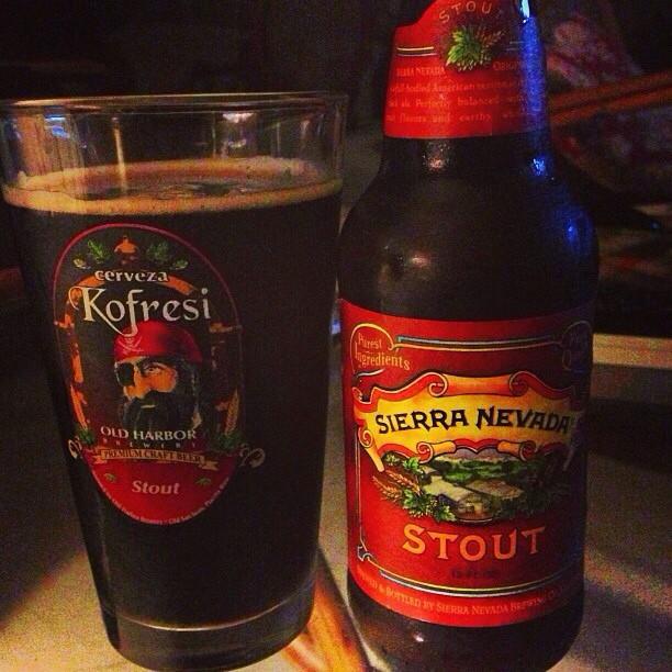 Sierra Nevada Stout vía @dehumanizer en Instagram