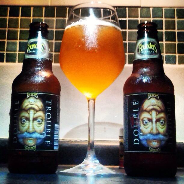 Founders Double Trouble Imperial IPA vía @valdorm en Instagram