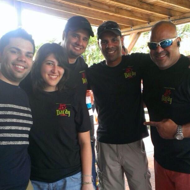 @ashi274 en Aibonito Beer Garden junto a la gente de Dacay y Aibonito Homebrewers
