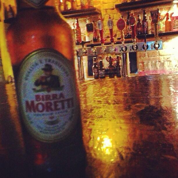 Birra Moretti vía @wilmagisselle en Instagram