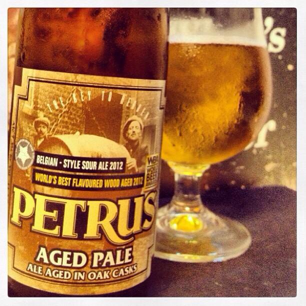 Petrus Aged Ale vía @lynn_sr en Instagram