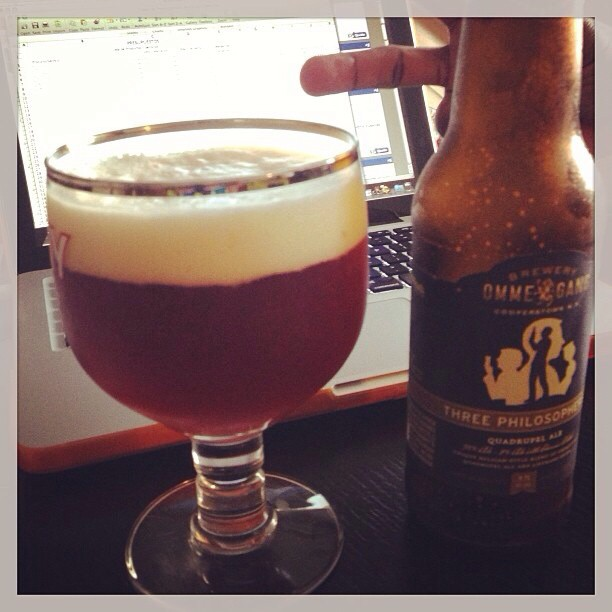 Ommegang Three Philosophers Quad Ale vía @pablopr77