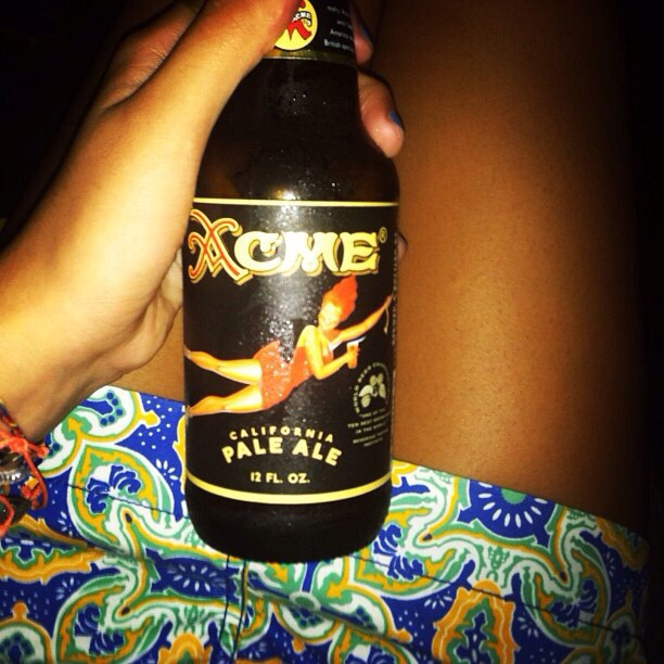 Acme California Pale Ale vía @_photosynthetica en Instagram