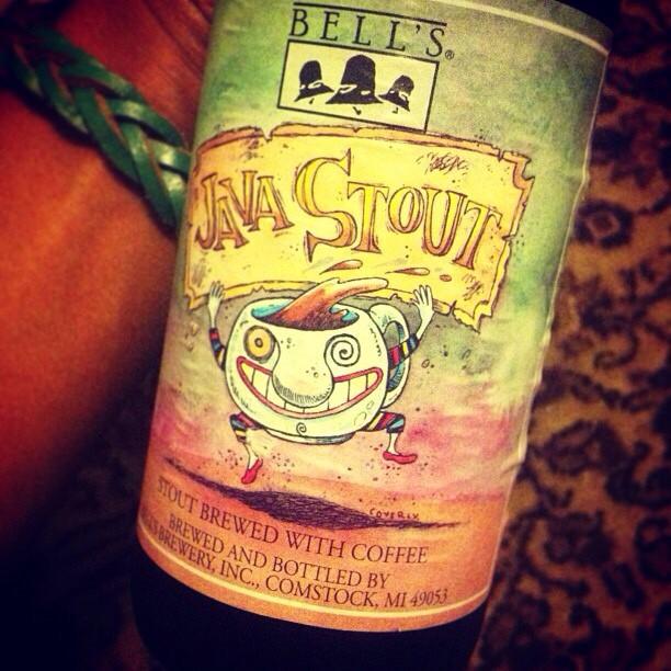 Bell's Java Stout vía @lornajps en Instagram