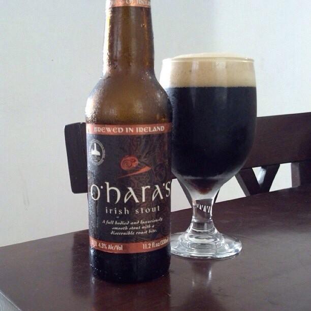 Ohara's Irish Stout vía @adejesus80 en Instagram