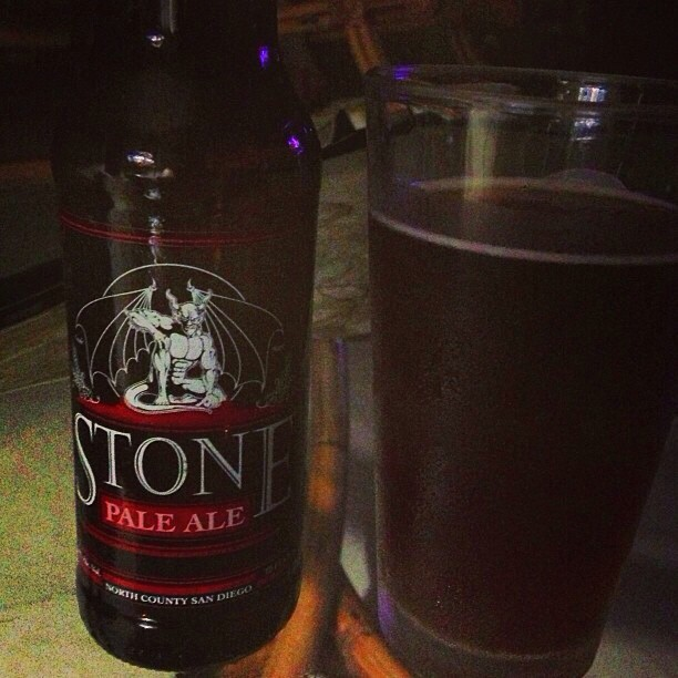 Stone Pale Ale vía @dehumanizer en Instagram