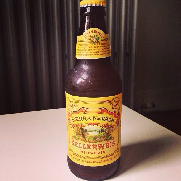 Sierra Nevada Kellerweis Hefeweizen vía @foodietiando en Instagram