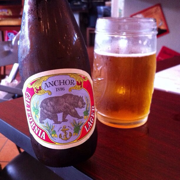 Anchor California Lager vía @apaman8 en Instagram