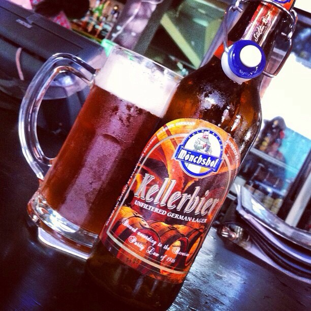 Kellerbier Unfiltered German Lager vía @apaman8 en Instagram