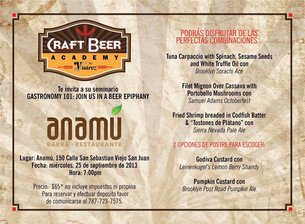 Imagen: Craft Beer Academy de V. Suárez