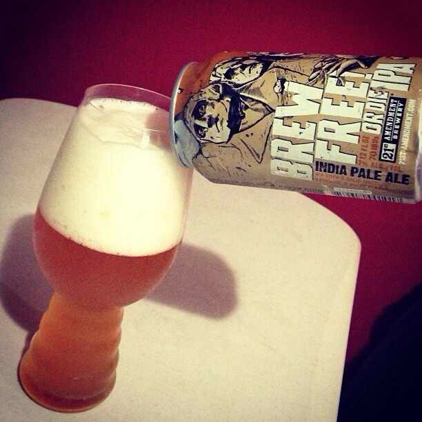 Brew Free! or Die IPA via @brewmaniac en Instagram