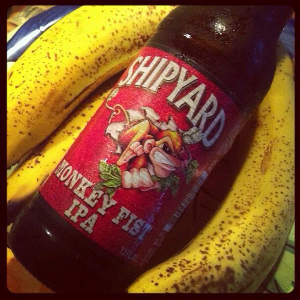 Shipyard Monkey Fist IPA vía @lornajps en Instagram