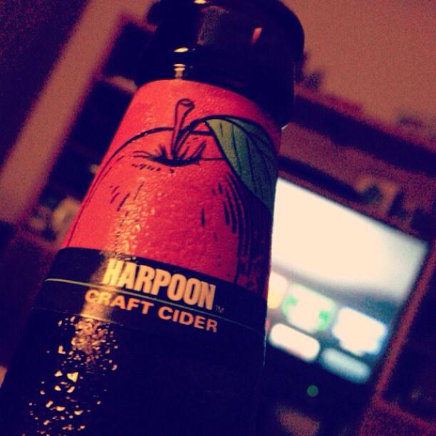Harpoon Craft Cider vía @izqrdo en Instagram