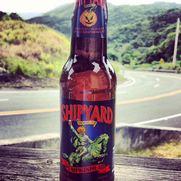 Shipyard Pumpkinhead Ale vía @aibonitobeergarden en Instagram