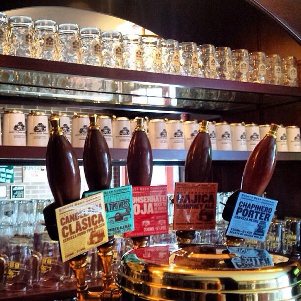 Bogotá Beer Company vía @rafakaribe en Instagram