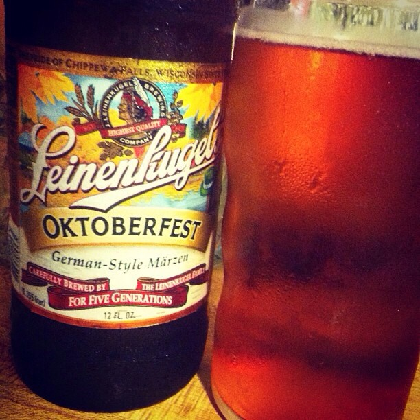 Leinenkugel's Oktoberfest vía @lornajps en Instagram