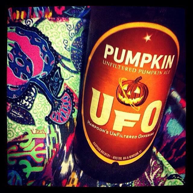 UFO Pumpkin vía @lornajps en Instagram