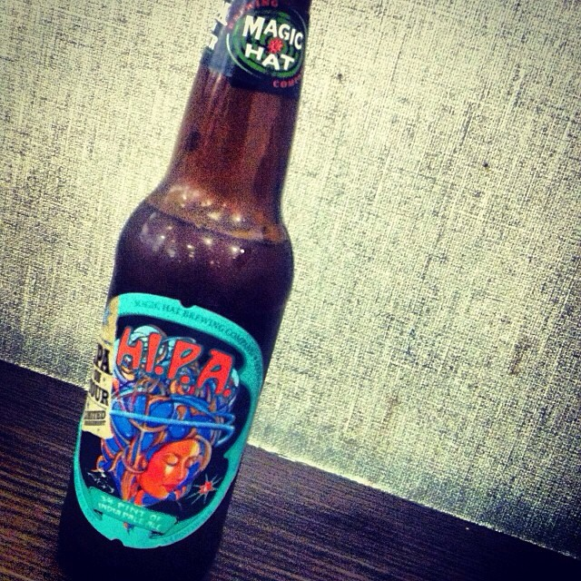 Magic Hat HI.P.A. vía @lornajps en Instagram