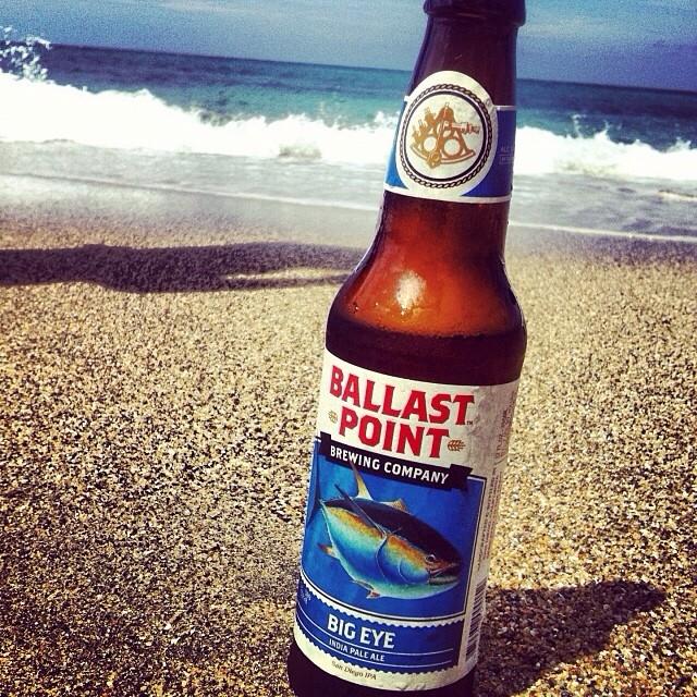 Ballast Point Big Eye IPA vía @lornajps en Instagram