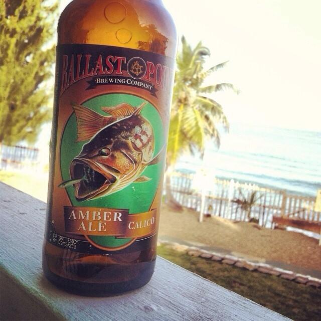 Ballast Point calico Amber Ale vía @lornajps en Instagram