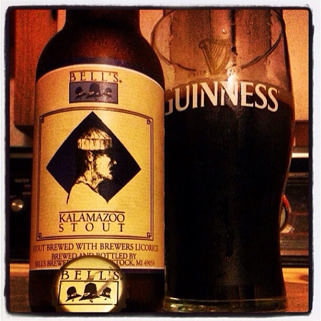 Bells's Kalamazoo Stout vía @bierontap en Instagram