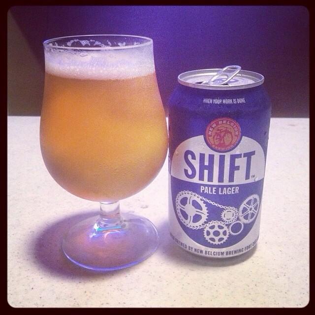 Shift Pale Lager vía @ramonesbrew en Instagram