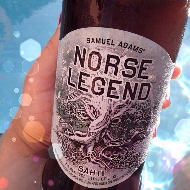 Samuel Adams Norse Legend vía @natapaola en Instagram
