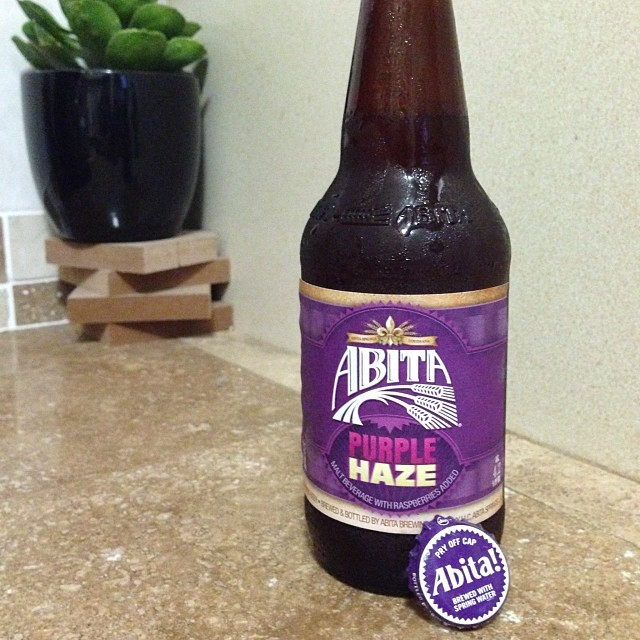 Abita Purple Haze vía @mariela0712 en Instagram