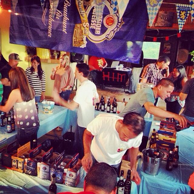 Otkoberfest de Aibonito Beer Garden vía @brewmaniac en Instagram