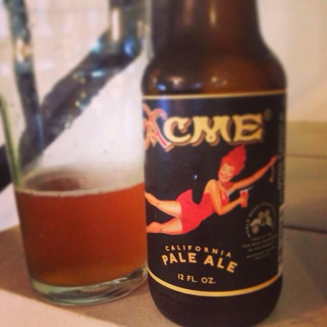 Acme California Pale Ale vía @pablopr77 en Instagram