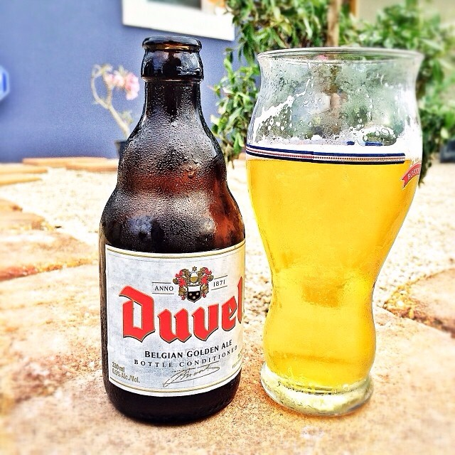 Duvel Belgian Golden Ale vía @manuhola en Instagram