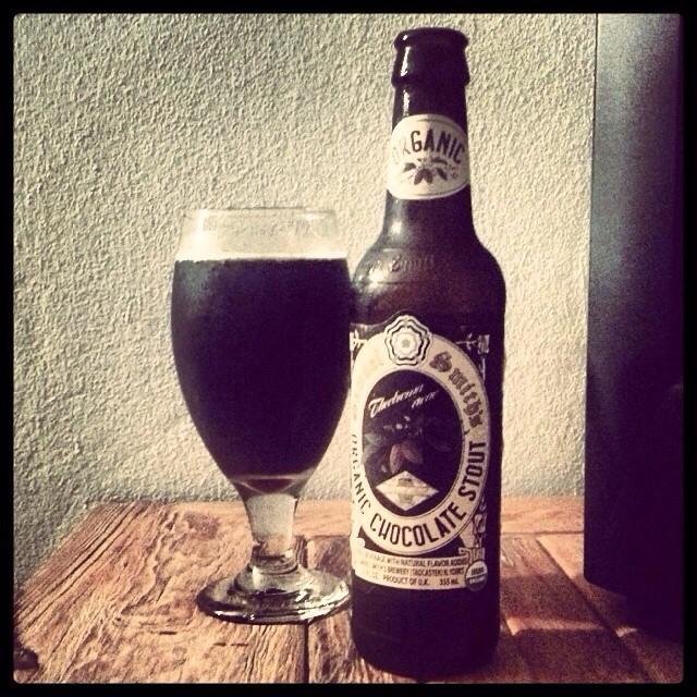 Samuel Smiths Organic Chocolate Stout vía @adejesus80 en Instagram