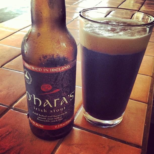 Ohara's Irish Stout Foto: @brewmaniac en Instagram