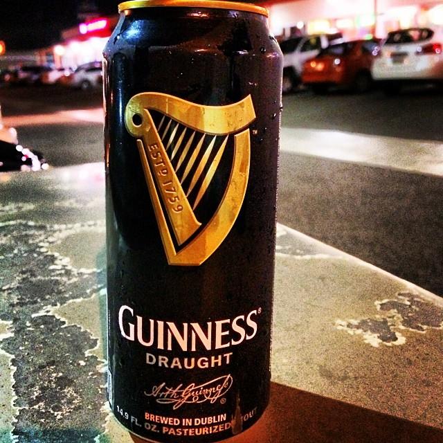 Guinness Draught Irish Dry Stout Foto: @manuhola en Instagram