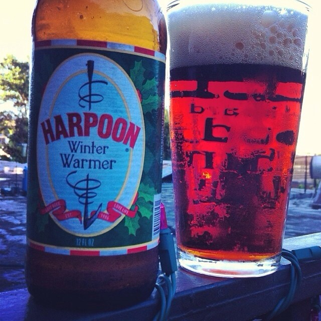 Harpoon Winter Warmer vía @apaman8 en Instagram